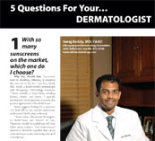 Five Questions for your Dermatologist
