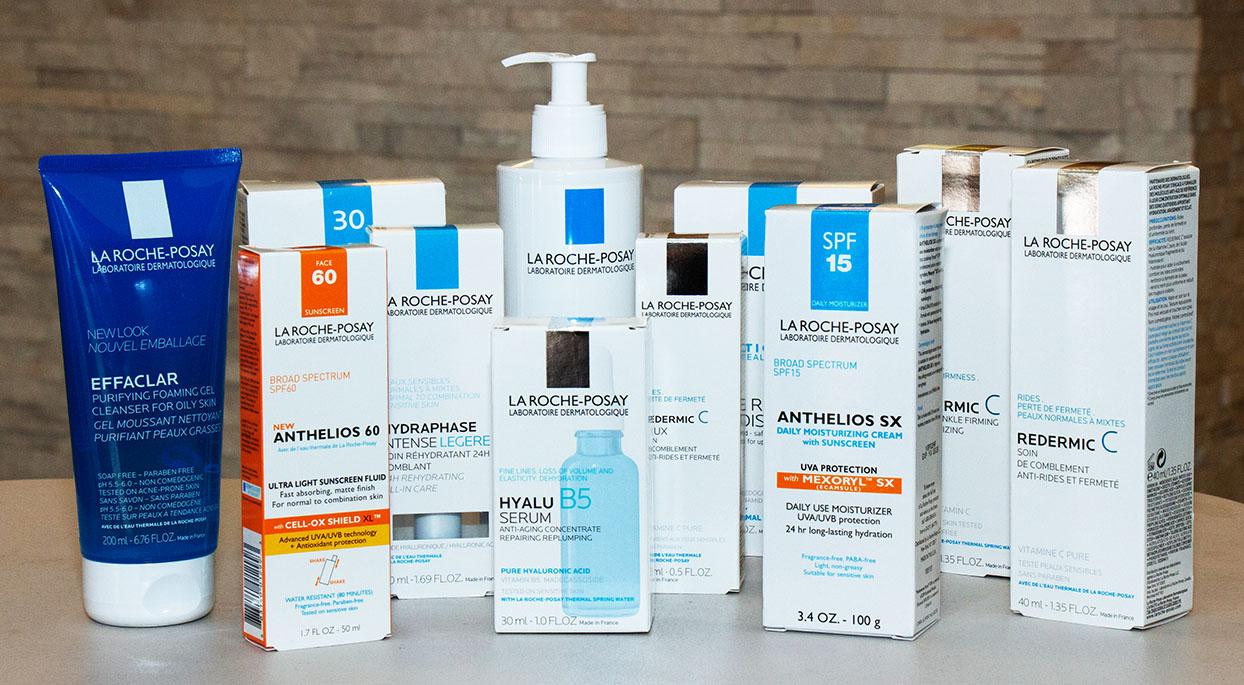 La Roche-Posay products at Albuquerque Dermatology Associates