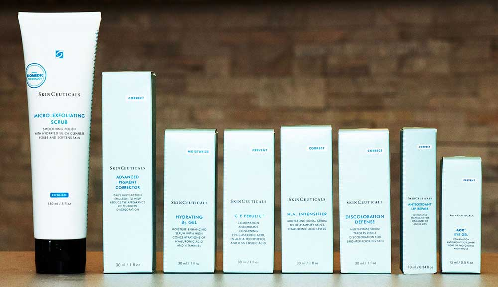 SkinCeuticals products at Albuquerque Dermatology Associates